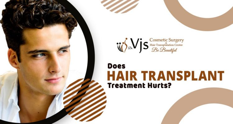 Is it true hair transplant treatment is painful and increases discomfort?
